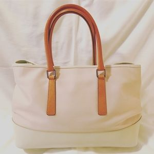 Coach Bags - Classic Coach Hamptons Carryall, Pink and White
